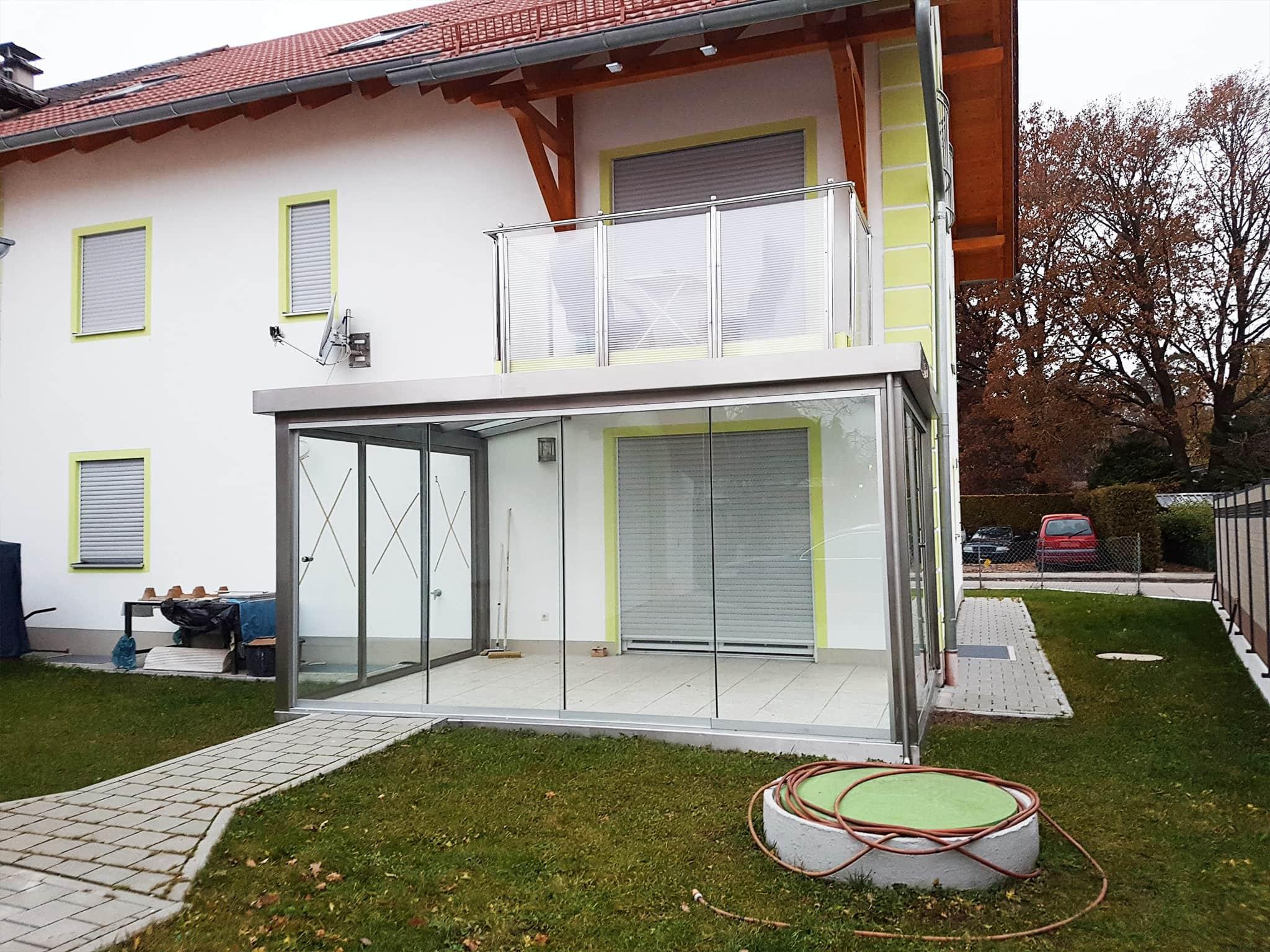 Wintergarten und Balkon aus Edelstahl