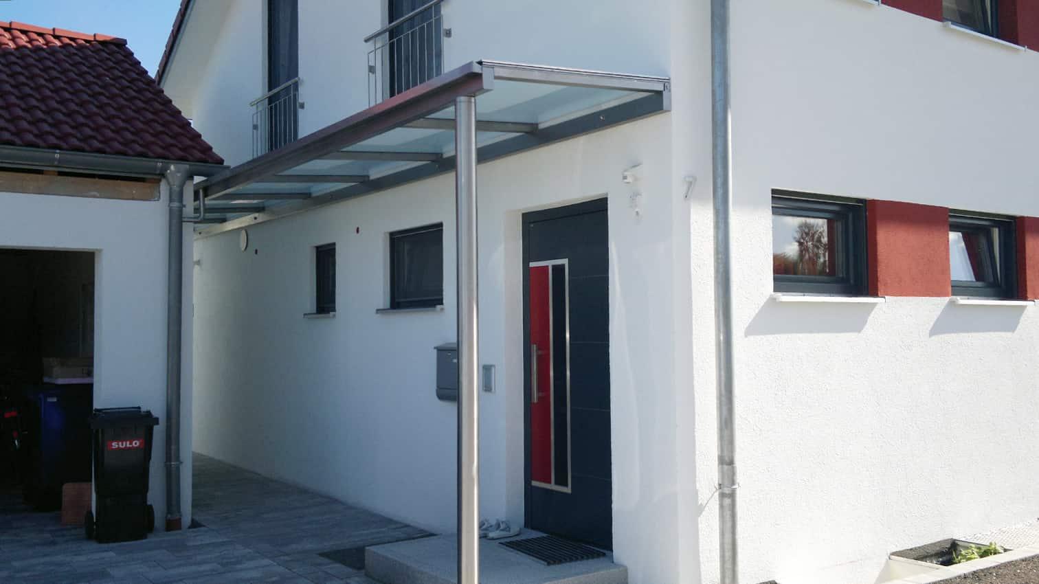 Wettergeschützter Eingangs- & Durchgangsbereich