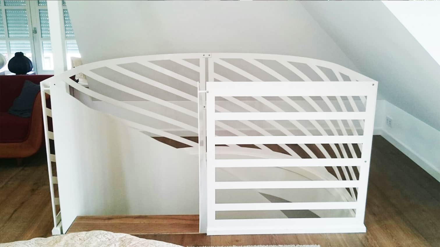 Treppe aus Metall