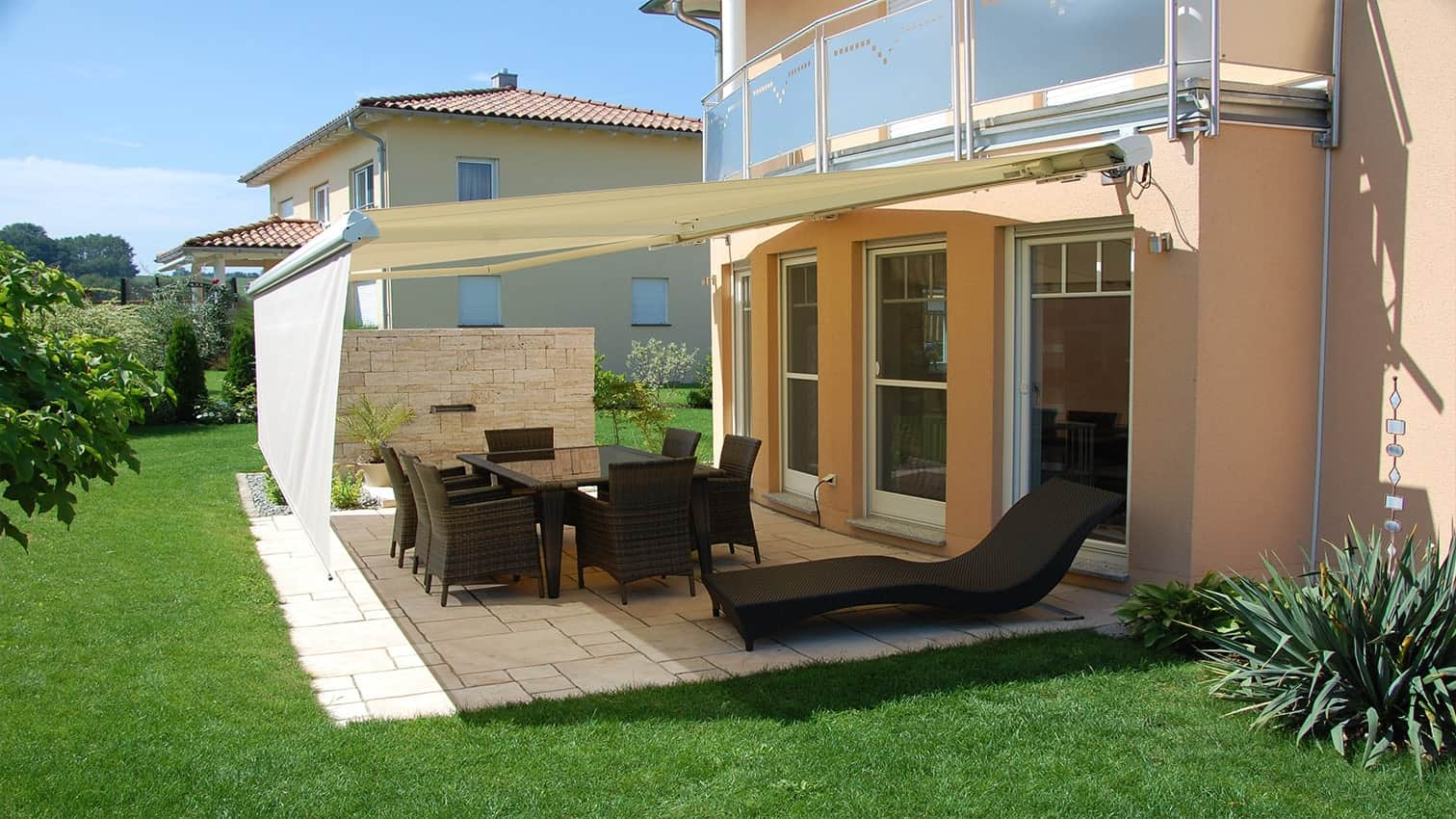 Markise perfekt an Ihre Immobilie angepasst