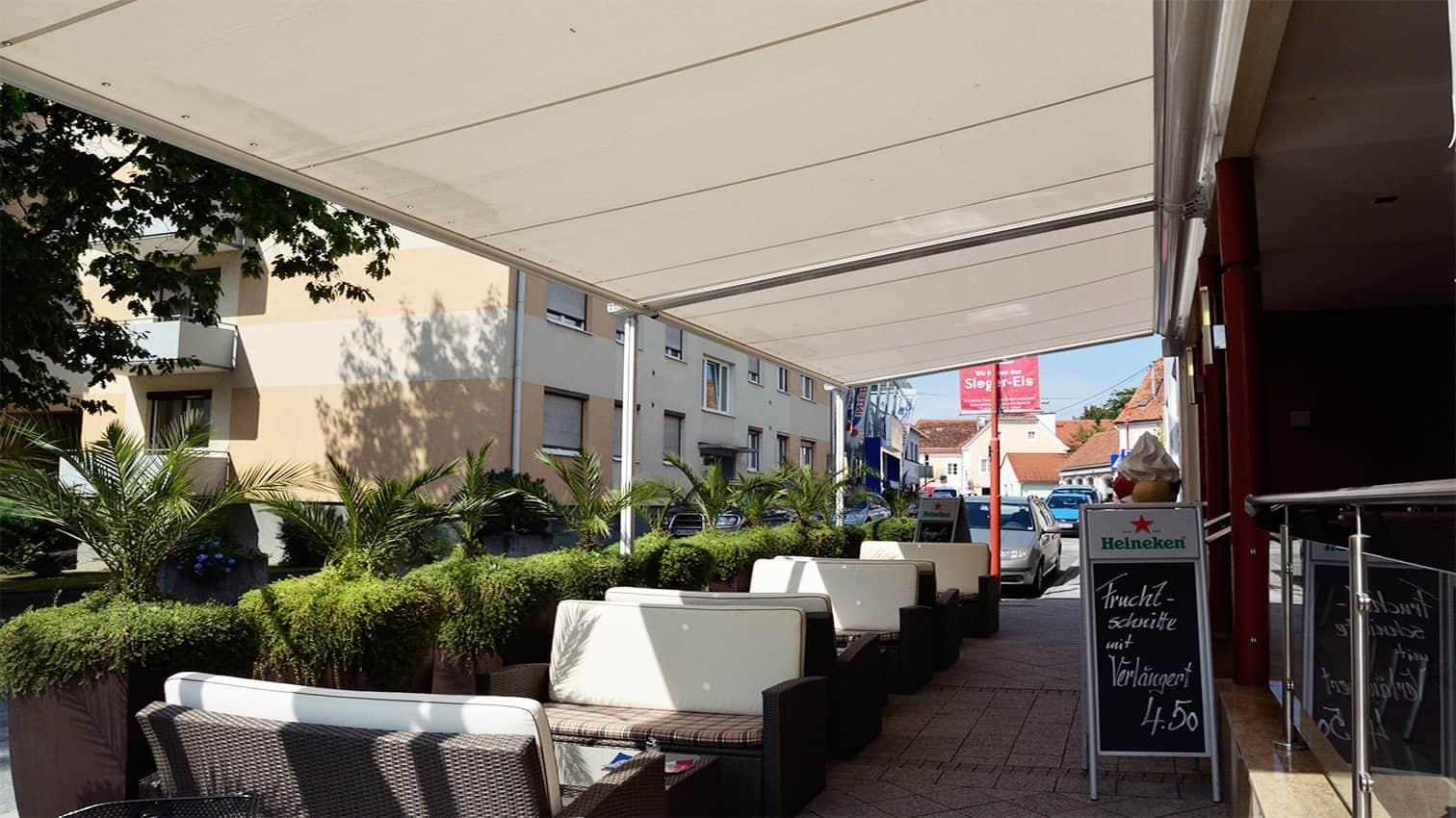 Sonnenschutz für Ihre Terrasse